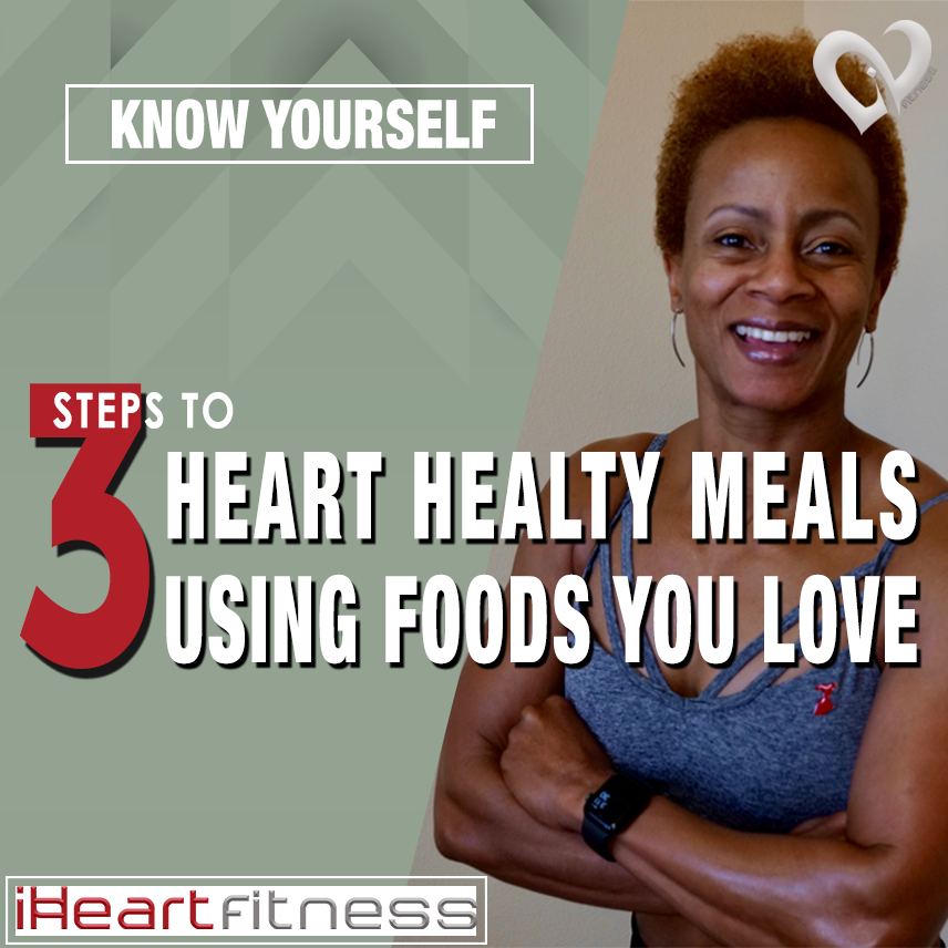 Learn to lose weight while enjoying the foods you love using iHeart Fitness' 3 steps to healthy meals using heart healthy foods from the DASH diet