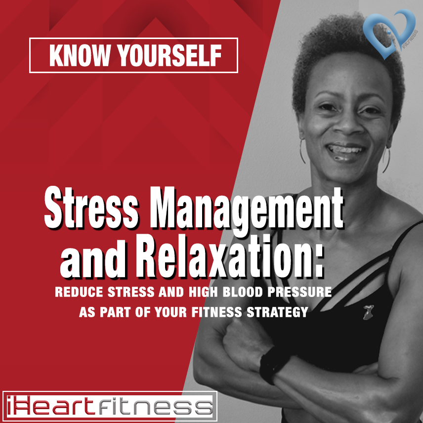 Stress and high blood pressure sometimes go hand in hand. Stress management can play a big role in keeping blood pressure down and maintaining normal A1C, both of which are good for your heart. Relaxing helps get nutrients to major muscles too. When stress starts to creep in, choose thoughts of happier, simpler, less stressful times. Your heart and your body will thank you.