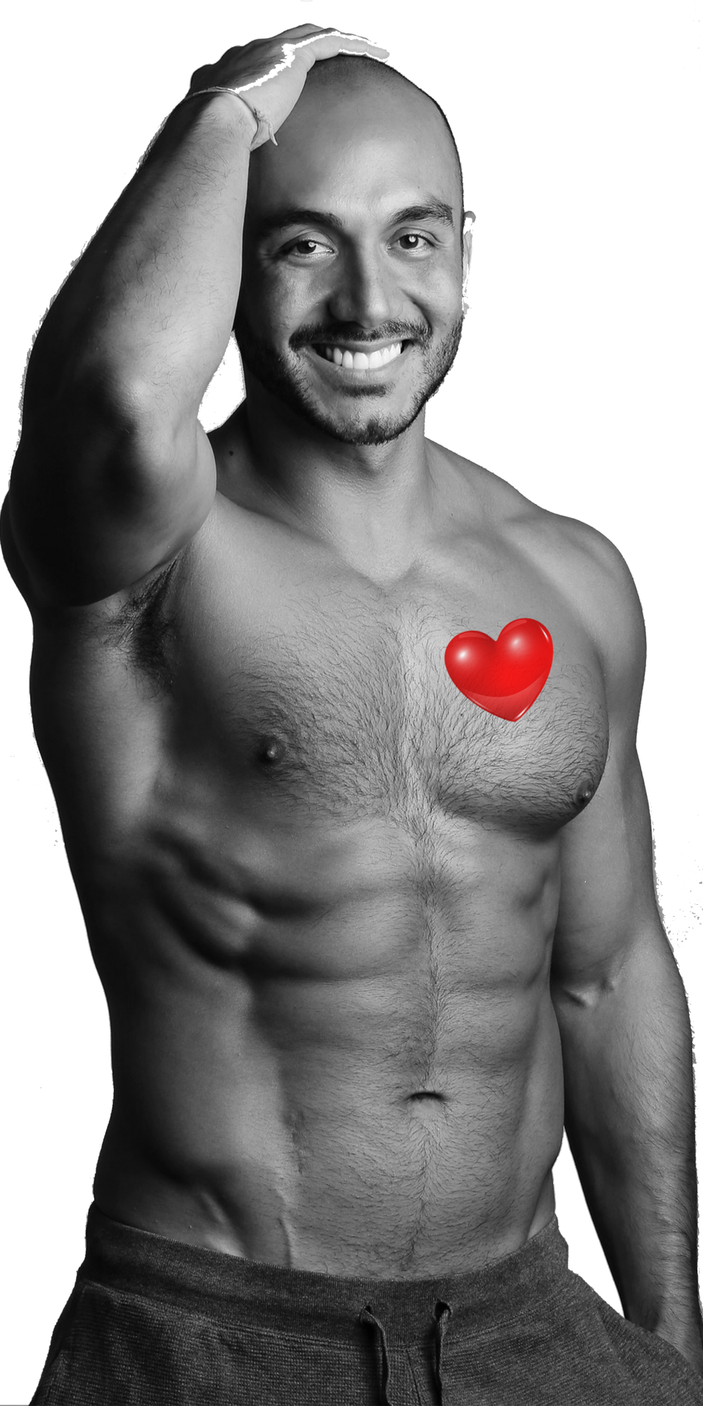 Male model_2 with heart overlay3
